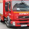 Explozii urmate de incendiu în Bistrița!