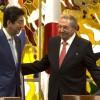 Premierul Japoniei, vizită istorică în Cuba