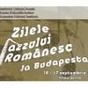 Zilele Jazzului Românesc la Budapesta