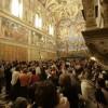 Vaticanul va limita vizitele în Capela Sixtină