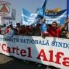 Cartel Alfa anunţă ample proteste în Piaţa Victoriei
