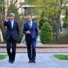 Lavrov şi Kerry au discutat pe o bancă din Paris