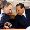 """Putin l-a vizitat pe Berlusconi cu """"permisiune specială"""""""