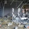 Stadionul echipei Şahtior, grav avariat de o explozie