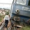 Tren deraiat la Băile Herculane