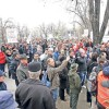 2015 începe cu un val de proteste în stradă
