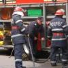 Un autoturism a ars în Capitală