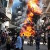 Explozie devastatoare la Damasc. Cel puțin 45 de morți!