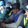 Minerii de la Slănic Prahova, protest spontan