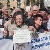 Pensionarii protestează joi în fața Guvernului