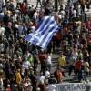 Protest anti-austeritate în Grecia