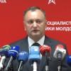 Dodon cere interzicerea organizațiilor care vor unirea cu România