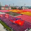 Paradă militară uriașă la Phenian. Kim Jong-un își umflă mușchii!