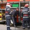 Incendiu teribil într-un bloc din Dej