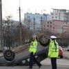Accident groaznic în Alba Iulia