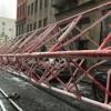 O macara s-a prăbușit în New York. 15 persoane, răniți!