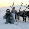 Militarii ruși se antrenează la minus 30 de grade!
