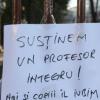 """Protest la Colegiul """"Tudor Vianu"""" din București"""