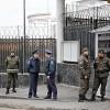 Protest în faţa Consulatului General al Rusiei din Odessa