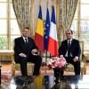 Vizita președintelui Hollande asfaltează străzile din Capitală!