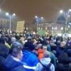 Proteste în Capitală, după modificarea Codurilor Penale
