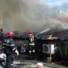 Incendiu teribil la Chitila