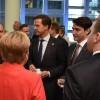 Iohannis, discuții cu Trump, Merkel și Trudeau