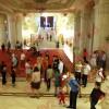 Copiii au ocupat Palatul Parlamentului
