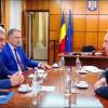 Tudose, întrevedere cu ambasadorul Klemm