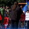Protest în faţa Ambasadei Ucrainei din Bucureşti