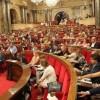 Parlamentul catalan, desființat!