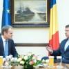 Iohannis, întâlnire cu Tusk la Sibiu