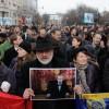 Regele Mihai, condus pe ultimul drum de zeci de mii de români!