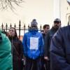 Proteste reluate în fața sediului PSD Sibiu
