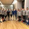 Voleibalistele de la CSM București, încurajate de rugbyști