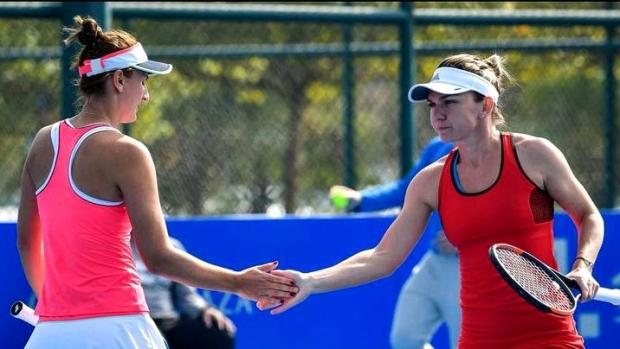 Madrid QF: Simona Halep def. Irina-Camelia Begu 6-3, 0-6 ...  |Halep Begu