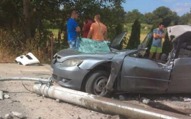 Accident teribil pe drumul Hunedoara-Deva. Un tânăr a murit!