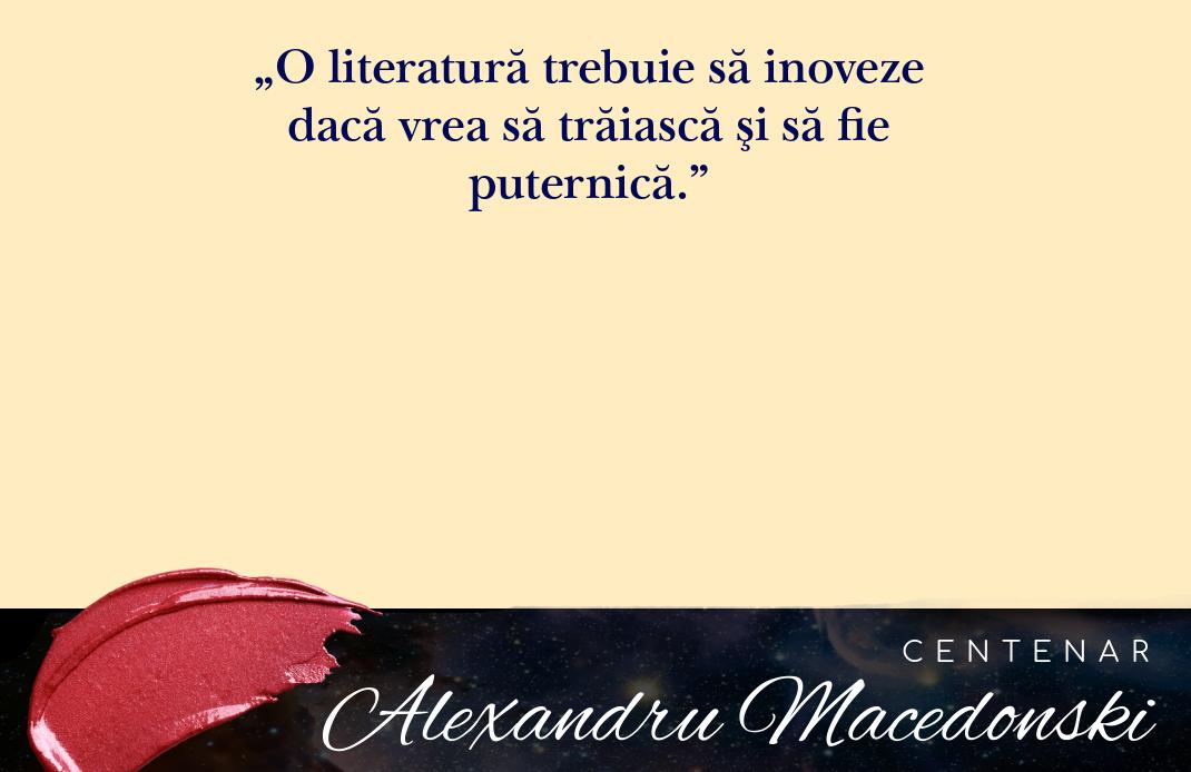 """Centenar Alexandru Macedonski: """"Poezia nu va fi decât muzică și imagine, aceste două sorginți ale ideii"""""""